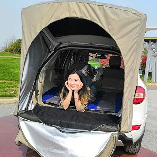 XLY Toldo impermeable para coche, portátil, tienda de campaña plegable, con bolsas de arena para camping, edición simple para personas, 1