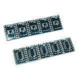perfk SOP20 / TSSOP -Adapterplatine SMD-Breakout Platinenadapter SOP20 - TSSOP16