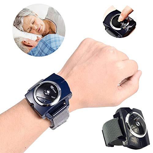 HUWAI-F Antironquidos para Dormir Silentsnore, Anti-Snore Watch Dejar de Roncar,...