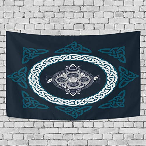 nobrand Celtic Cross Tapestry Wall Hanging Home Decorations for Living Room Bedroom Dorm,80' x 60'