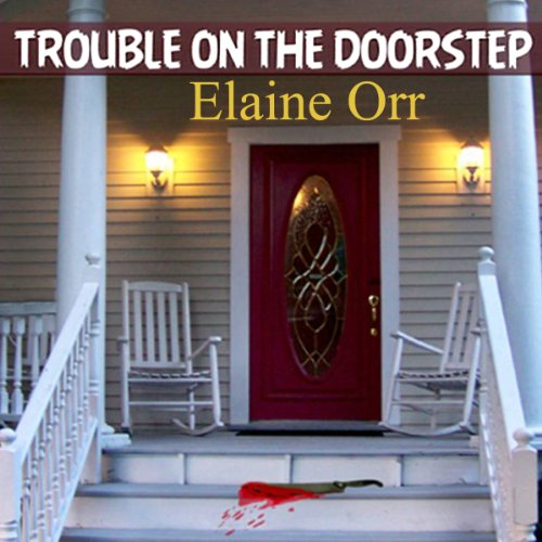 Trouble on the Doorstep audiobook cover art