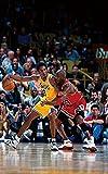 Michael Jordan & Kobe Bryant 1998 Action Poster 15 x 23 Inches Affiche 38 x 58 cm (380 x 580 mm) Cadeau décorative