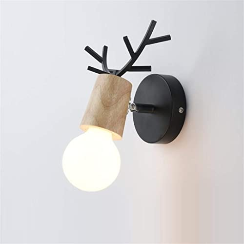 Plafonnierlampe De Chevet Simple Lampe De Couloir Créatif Escalier Couloir Lampes Chambre D'Enfants Tête De Cerf Nordique Chambre Salon Lampe Murale