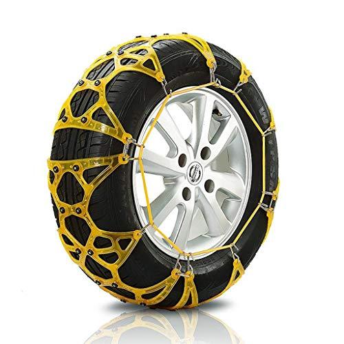 Chaîne Neige Voiture SUV Neige Pneu d'urgence chaînes à Neige Facile à Installer (Taille : 225\60R16)