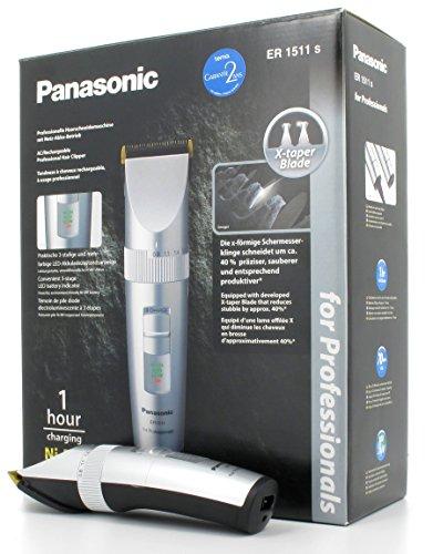 Panasonic ER 1511Tagliacapelli Professionale con X Taper Blade
