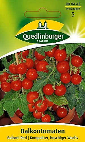 Quedlinburger Tomate 'Balconi Red', 1 Tüte Samen