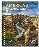 Americas National Parks Weekly Engagement Calendar 2021 Planner Personal Journal Organizer Scheduler 6.5' x 8.5' Spiral