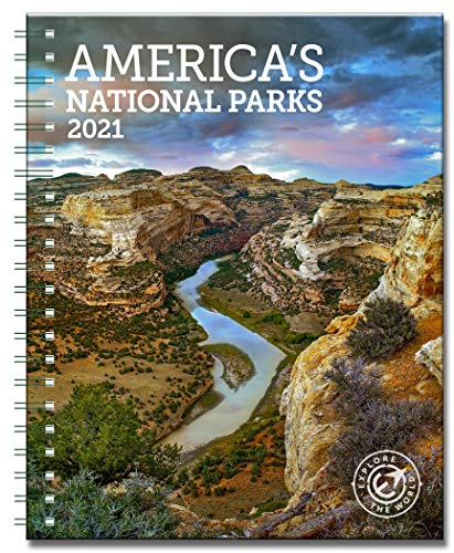Americas National Parks Weekly Engagement Calendar 2021 Planner Personal Journal Organizer Scheduler 6.5