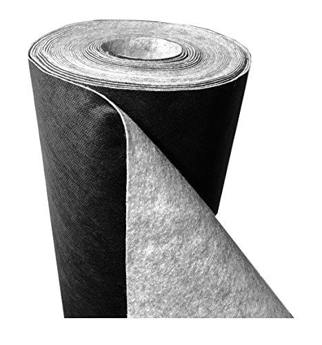 """DeRiTex 180 g/m² - Unkrautvlies bzw. Unkrautschutzvlies """"Premium Plus"""" (L) 50 m x (B) 1,0 m"""