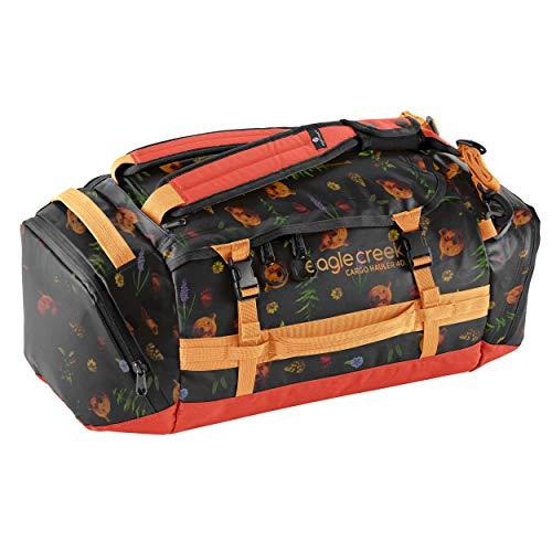 Eagle Creek Cargo Hauler Duffel Bag 40L, faltbare Reisetasche, aus abrieb- & wasserbeständigem TPU-Gewebe, Rucksack und Koffer in einem, Golden State, S