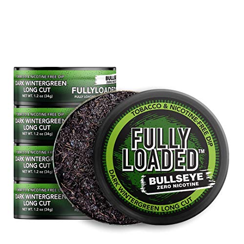 Fully Loaded Chew - 5 Pack - Tobacco and Nicotine Free Dark Wintergreen Flavored Chew