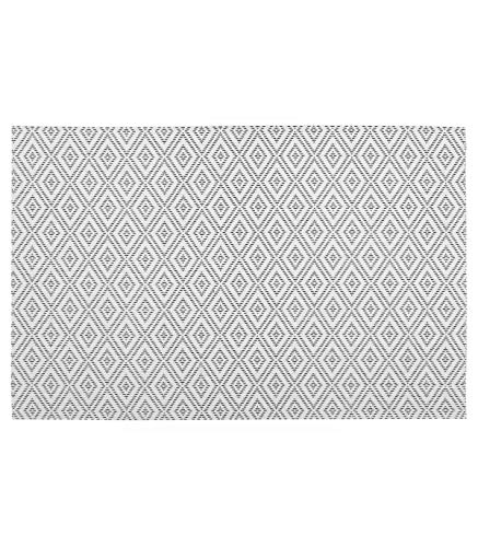 Secret de Gourmet - Set de table géométrique blanc 45X30