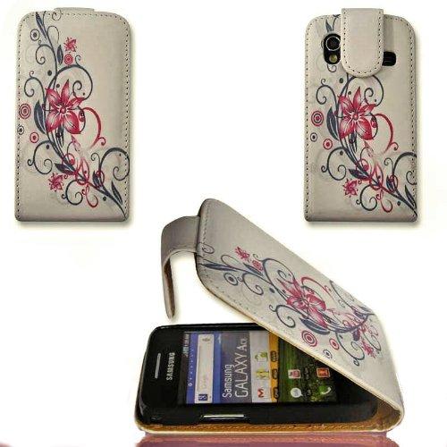 Funda Flip Style–No. 7–Cover Case Funda Funda para Samsung S5830Galaxy Ace