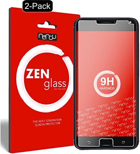 ZenGlass [2 Stück Flexible Glas-Folie kompatibel mit ASUS Zenfone 4 Max 5,5 Zoll ZC554KL Panzerfolie I Bildschirm-Schutzfolie 9H I (Kleiner Als Das Gewölbte Bildschirm)
