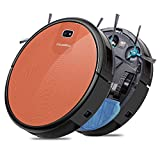 Milagrow RedHawk21 – Wet Mopping with Watertank Robotic Vacuum Cleaner, 1500Pa iBoost Suction, Mapping, Scheduling, Self Charge, 4 Cleaning Modes, APP(Red)