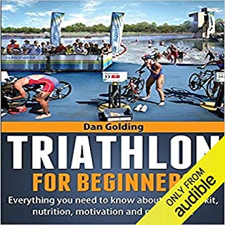 Triathlon for Beginners audiobook cover art