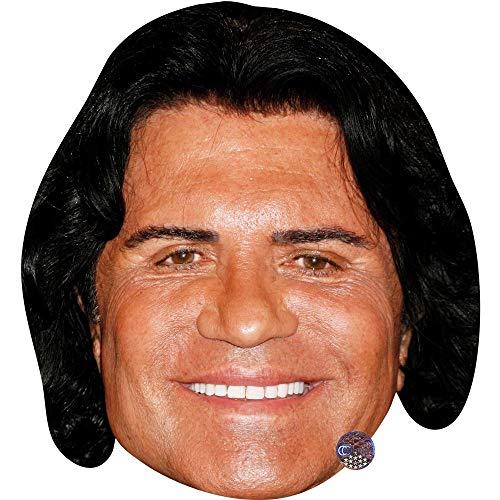 Celebrity Cutouts Costa Cordalis (Smile) Maske aus Karton