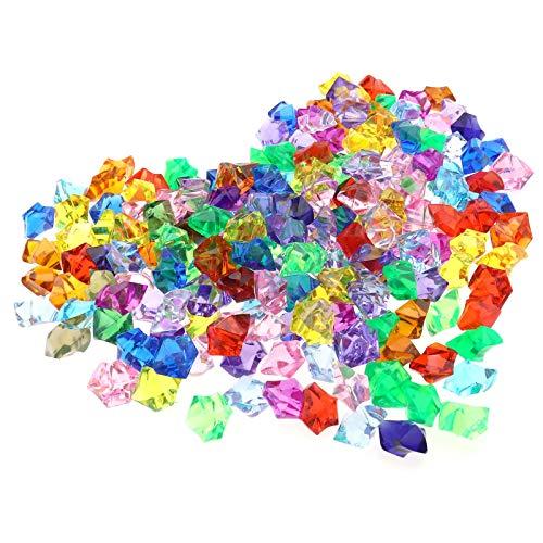 OTOTEC Pirat Juwelen Edelsteine Acryl Diamanten Kit 500G Tabellen Dekorationen Vase Füllstoffe Hochzeit Geburtstag Dekoration Party Kunsthandwerk