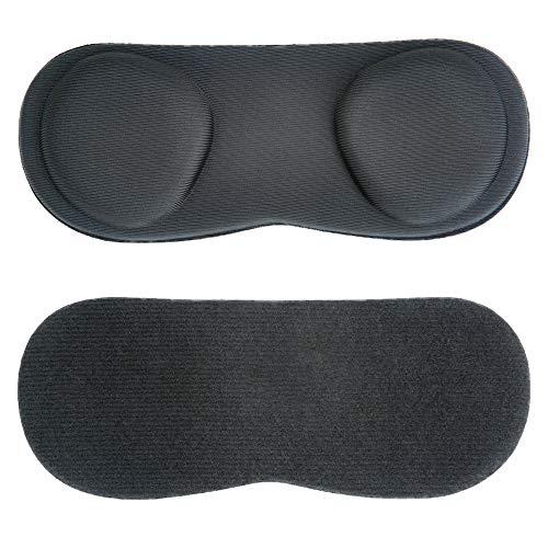 NEWZEROL Ersatz für VR Lens Protect Cover Staubschutzhülle für Oculus Quest, abwaschbare Schutzhülle - Schwarz