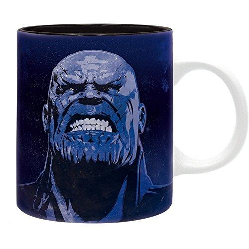 Comics Avengers Infinity War - Taza de cerámica, diseño de Los Vengadores