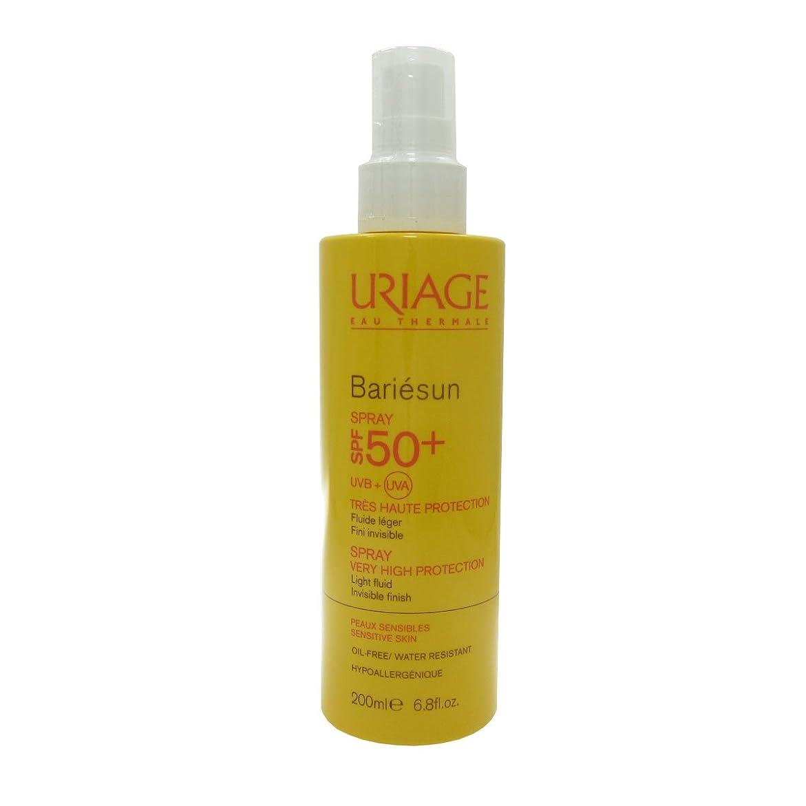 変更可能アベニュー王女Uriage Bariesun Spray Spf 50+ 200ml [並行輸入品]