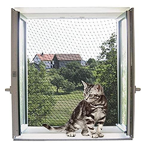 Red de protección para gatos 4 x 3 m, transparente