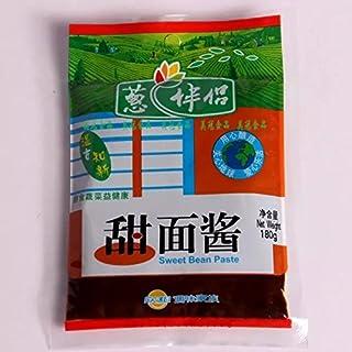 山东特产《葱伴侣》大酱 豆瓣酱 甜面酱-家的味道 (3包, 甜面酱)