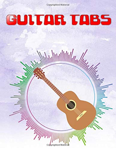 Classical Guitar TAB: Guitar Tabs Metallica 110 Pages Glossy Cover Design White Paper Sheet Size 8.5 X 11 INCH ~ Tab - Blank # Easy Very Fast Print.