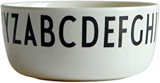Design Letters - Kids Melamine Alphabet Breakfast Bowl - 4.5 inches