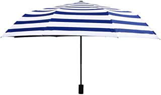 Automatic Folding Umbrella, Small Fresh Sunscreen UV Protection, Easy to Carry One-Button Open Suitable for Both Men and Women ,with Ergonomic Handle