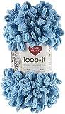 Red Heart Loop-It Yarn, I Blue It