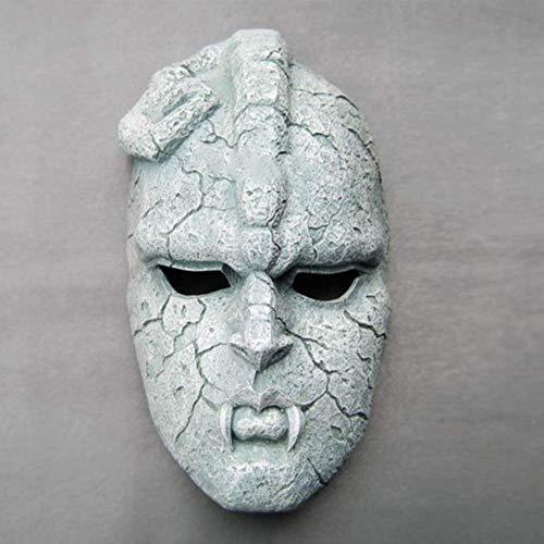 Máscara De Piedra Jojo Ghost Full Face Resina Máscara