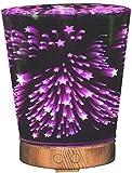 Dmygo Difusor de Aroma aromaterapia Esencial Difusores de petróleo humidificador 7 Luces LED de Colores for Ministerio del Interior Habitación Sala Estudio Yoga SPA