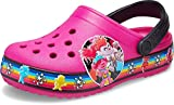 Crocs Kids' Classic Lined Clog | Warm and Fuzzy Slippers for Kids, Candy Pink, 9 US Toddler