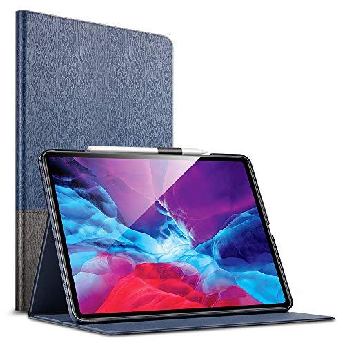 ESR Case for iPad Pro 12.9' 2020 & 2018,Urban Premium Folio Case with Book Cover Design, Multi-Angle Viewing Stand, Auto Sleep/Wake for iPad 12.9' 2020,Knight