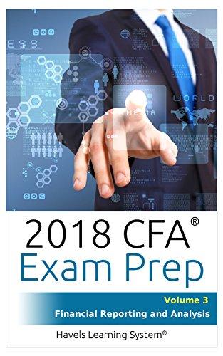 CFA Level 1 Exam Prep - Volume 3 - Financial Reporting And Analysis (English Edition)