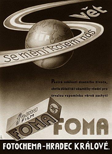 Foma Fomapan 400 ISO Black & White Negative Film, 35mm, 24 exposure