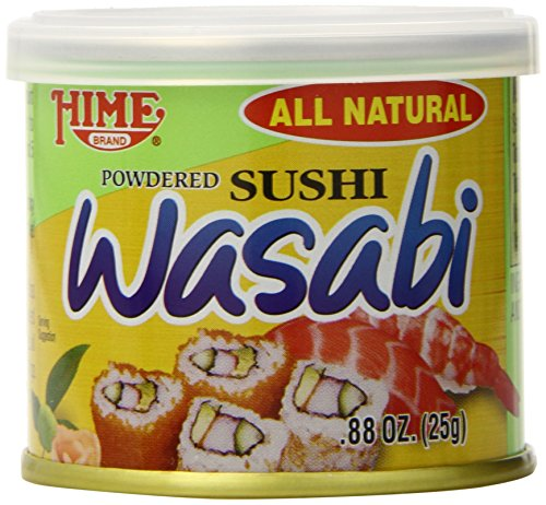 Japanese Sushi Wasabi Powder 88Ounce Cans Pack of 10