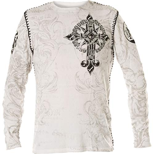 Xtreme Couture by Affliction Pullover Hercules Weiß, M