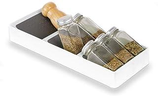 3 Niveaux Porte Épices Organisateur Tiroir Rangement Cuisine Plastique Étagère Epices, Spice Rack Organizer Drawer Kitchen...
