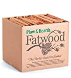 Fatwood 50 LB Box Fire Starter All Natural Organic Resin Rich Eco...