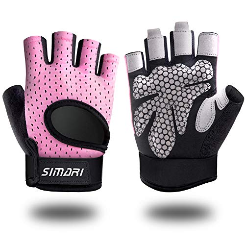 SIMARI Workout Gloves Weight Lifting Gym Gloves for Men Women, Full Palm Protection, Breathble and Durable, for Weightlifting, Training, Fitness, Exercise Hanging, Pull ups Upgraded 2021 SG907