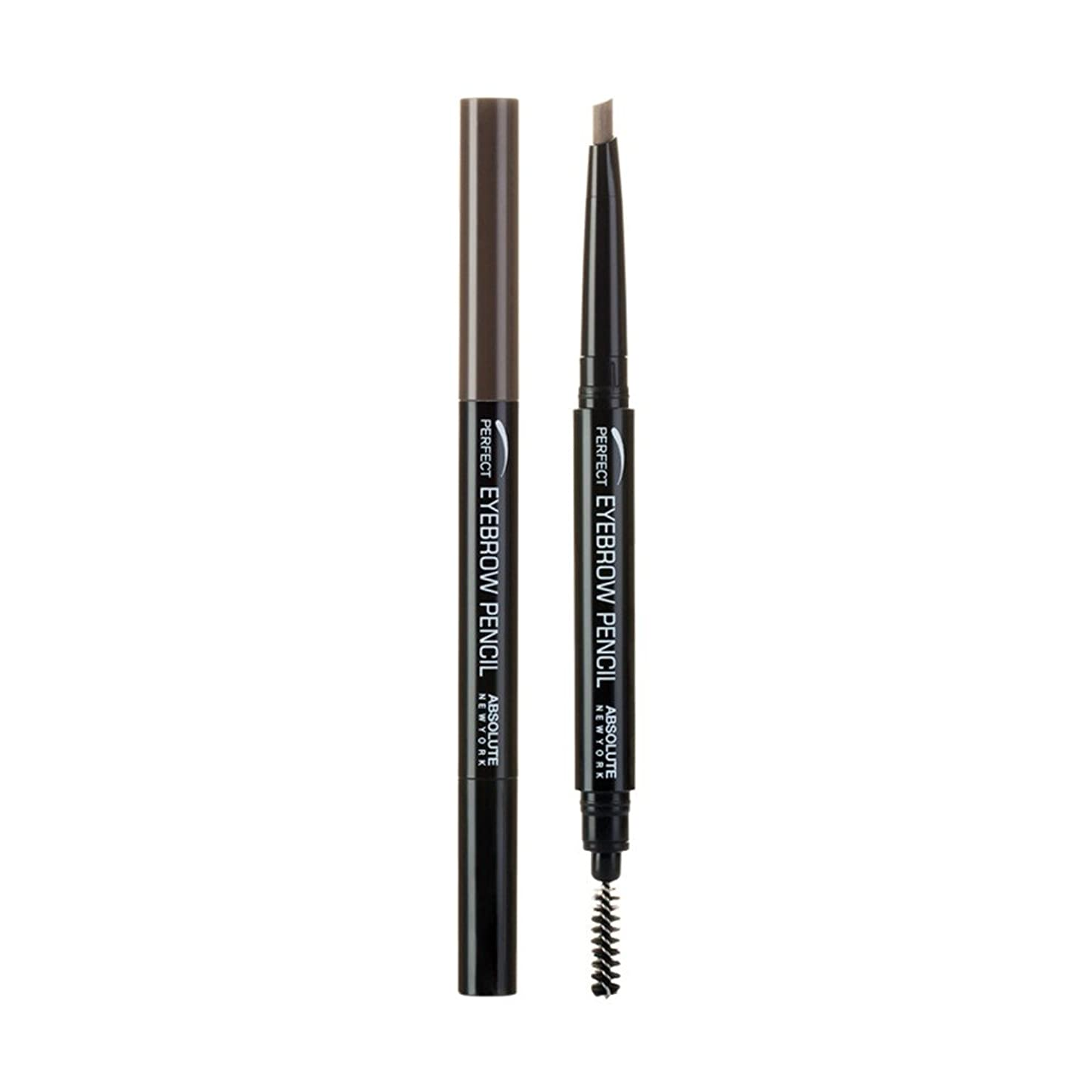 出来事無視文明(3 Pack) ABSOLUTE Perfect Brow Pencil - Brown (並行輸入品)