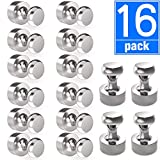 16Pcs Refrigerator Magnets Magnetic Push Pins,Fridge magents,Powerful Push Pin Magnet, Magnetic Thumb Tacks...
