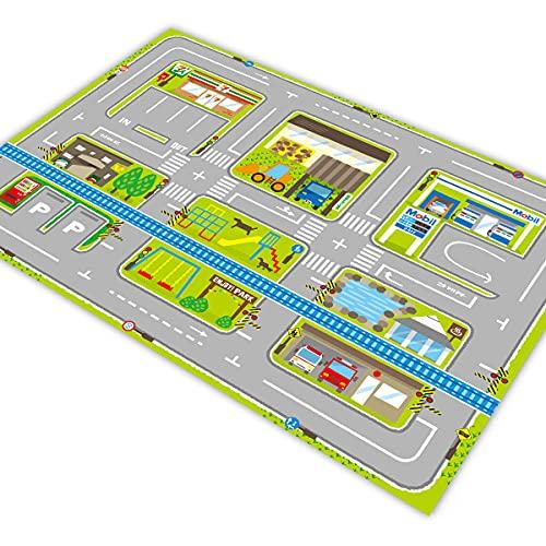Pista P/ Carro HOTCARS Grande Cidade Bairro Estacionamento 1,4mx1,0m