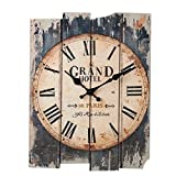 CT-Tribe Reloj de Pared Vintage, 30×40cm Reloj de Pared Silencioso Decoración del Hogar - 1