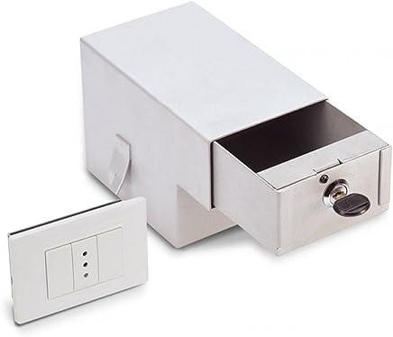 Cassaforte a Muro 210x340x150 mm Chiave a Doppia Mandata Technomax Gold Plus Key Cancelleria e prodotti per ufficio