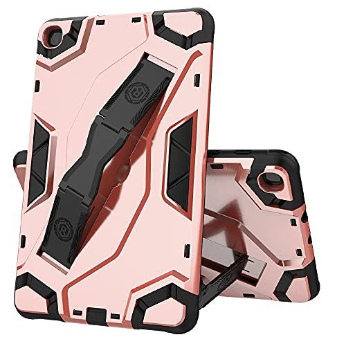 ZHIWEI Tablet PC Bag Custodia per Tablet per Samsung Galaxy Tab A 8.4 (2020) -T307, TPU + PC Cover Protettivo Multifunzione Multifunzione con Impugnatura Pieghevole Kackstand (Color : Pink)