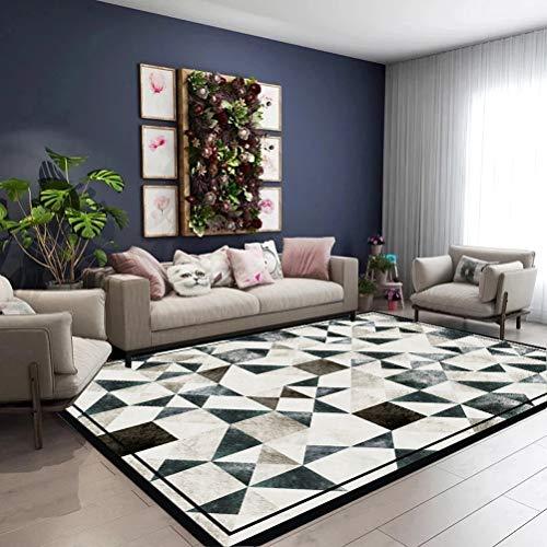 QUD Schönes Wohnzimmer Teppich Home Decoration großen Teppich Mat Modern Schlafzimmer Yoga Teppich Kinderzimmer Teppich Heimkino Zubehör 19/12/28 (Color : B, Size : 140cmx200cm)