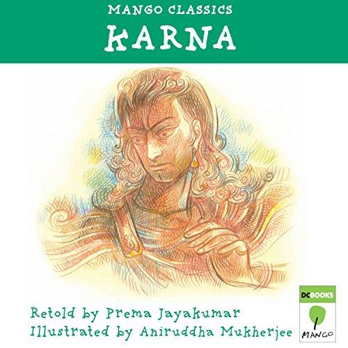 Karna audiobook cover art